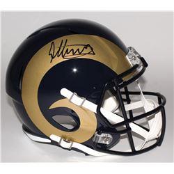 Todd Gurley Signed Rams Full-Size Speed Helmet (Radtke)