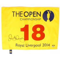 Rory McIlroy Signed LE 2014 Open Pin Flag (UDA COA)