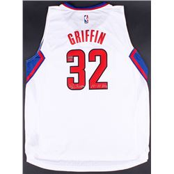 """Blake Griffin Signed LE Clippers Adidas Jersey Inscribed """"10-11 ROY"""" (Panini COA)"""