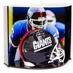 """Lawrence Taylor Signed LE Giants Full-Size Authentic Pro-Line Helmet Inscribed """"2X SB Champs""""  """"HOF"""