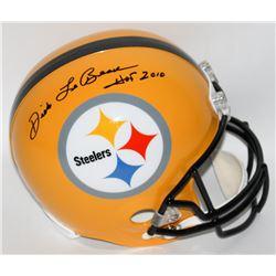 Dick LeBeau Signed Steelers Full-Size Helmet Inscribed  HOF 2010  (Radtke Hologram)