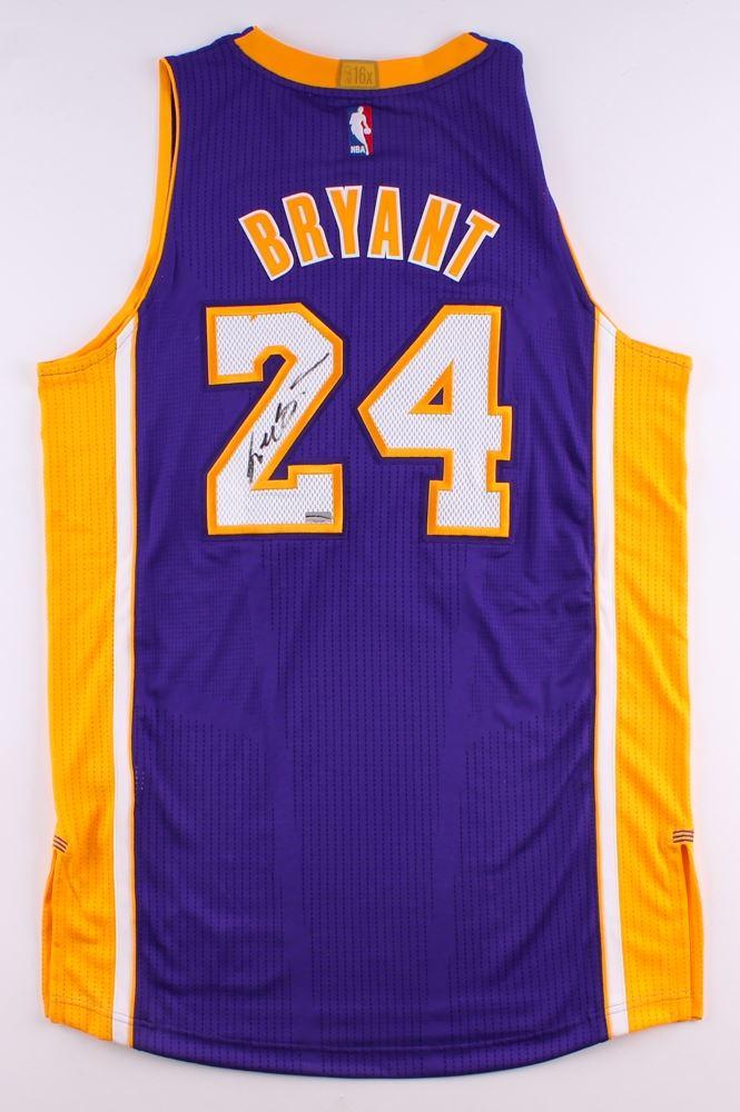 145997cc16dd Image 1   Kobe Bryant Signed Lakers Authentic Adidas Jersey (Panini COA)