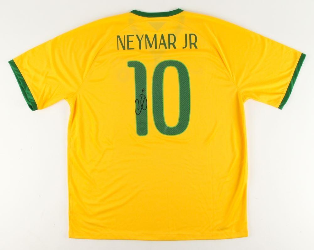 74e606f7ffd Image 1   Neymar Jr. Signed Brazil Jersey (Neymar COA)