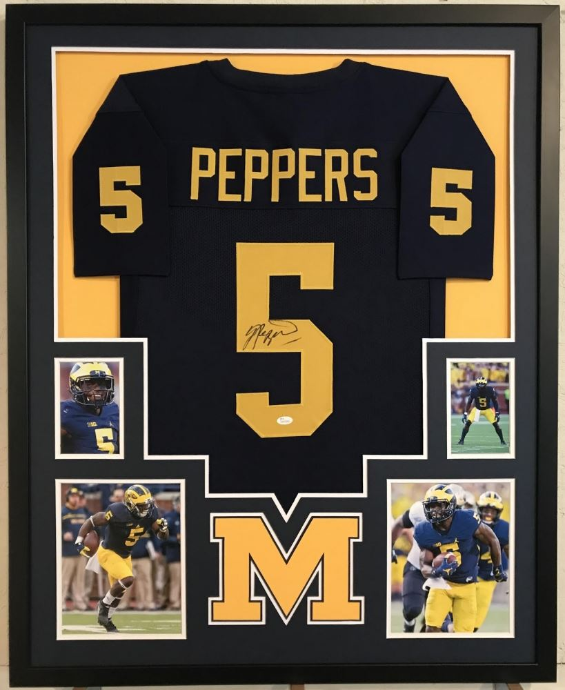 9558bf3ba Image 1 : Jabrill Peppers Signed Michigan Wolverines 34
