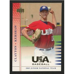 2005-06 USA Baseball Junior National Team #86 Clayton Kershaw