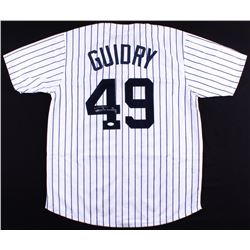 Ron Guidry Signed Yankees Jersey (JSA COA)