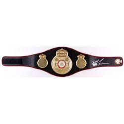 Mike Tyson Signed Full-Size WBA Championship Belt (PSA COA)