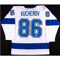Nikita Kucherov Signed Lightning Jersey (JSA COA)