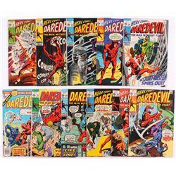 Lot of (11) Vintage Daredevil Marvel Comic Books