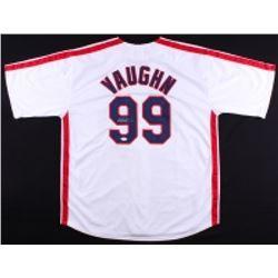 "Charlie Sheen Signed Indians ""Major League"" Ricky Vaughn Wild Thing Jersey (JSA COA)"