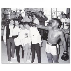 Muhammad Ali 16x20 Licensed Photo with The Beatles