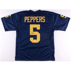 Jabrill Peppers Signed Michigan Wolverines Jersey (JSA COA)