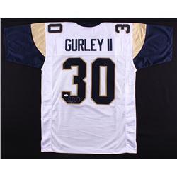 Todd Gurley Signed Rams Jersey (JSA COA)