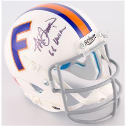 "Steve Spurrier Signed Florida Gators Mini-Helmet Inscribed ""66 Heisman"" (Radtke COA)"