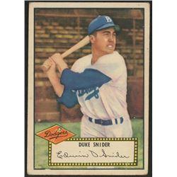 1952 Topps #37 Duke Snider