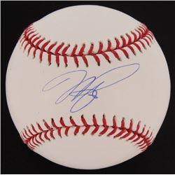 Mike Piazza Signed OML Baseball (PSA COA)