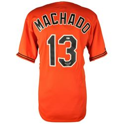 Manny Machado Signed Orioles Jersey (Fanatics  MLB)