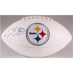 Hines Ward Signed Steelers Logo Football (TSE Hologram)