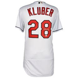 Corey Kluber Signed Indians Jersey (Fanatics  MLB)