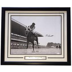 "Ron Turcotte Signed 22"" x 27"" Custom Framed Photo Display (JSA COA)"