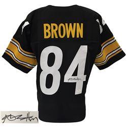 Antonio Brown Signed Steelers Pro-Style Jersey (JSA COA)