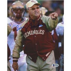 Bobby Bowden Signed FSU Seminoles 8x10 Photo (Beckett COA)