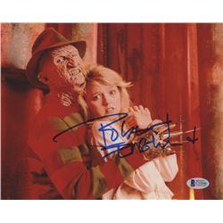 Robert Englund Signed Freddy Krueger 8x10 Photo (Beckett COA)