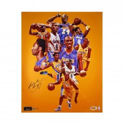 "Kobe Bryant Signed Lakers ""Greatness"" 24x30 Limited Edition Photo (Panini COA)"