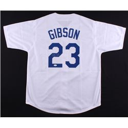 Kirk Gibson Signed Dodgers Jersey (JSA COA)