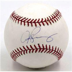 Alex Rodriguez Signed OML Baseball (PSA Hologram)
