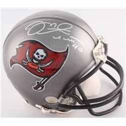 Mike Alstott Signed Buccaneers Mini-Helmet (Radtke COA)