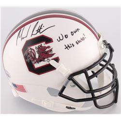 "Marcus Lattimore Signed South Carolina Gamecocks Mini-Helmet Inscribed ""We Own This State!"" (Radtke"
