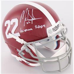 "Mark Ingram Signed Alabama Mini-Helmet Inscribed ""Heisman 2009"" (Radtke COA  Ingram Hologram)"