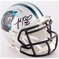 Luke Kuechly Signed Panthers Mini Speed Helmet (Radtke COA)