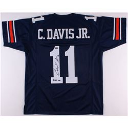 "Chris Davis Jr. Signed Auburn Tigers Jersey Inscribed ""Kick Six"" (Radtke COA)"