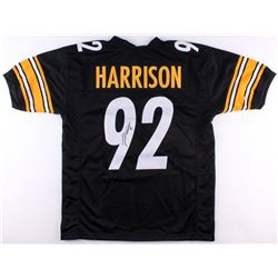 James Harrison Signed Steelers Jersey (TSE COA)