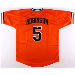 "Brooks Robinson Signed Orioles Jersey Inscribed ""HOF 83"" (JSA COA)"