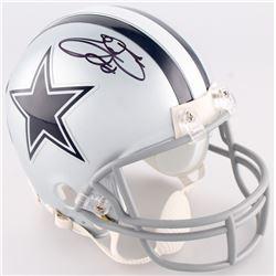 Emmitt Smith Signed Cowboys Mini-Helmet (Smith Hologram  Prova Hologram)