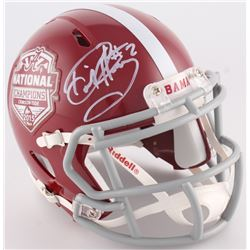 Derrick Henry Signed Alabama Crimson Tide 2015 National Champions Mini-Helmet (Radtke Hologram)