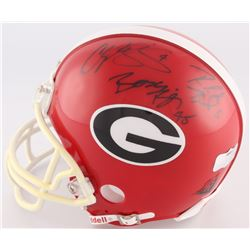 Champ Bailey, Boss Bailey  Ronald Bailey Signed Georgia Bulldogs Mini-Helmet (Radke Hologram)