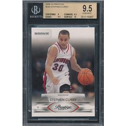 2009-10 Prestige #230 Stephen Curry Davidson RC (BGS 9.5)