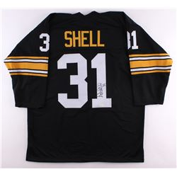 Donnie Shell Signed Steelers Jersey (TSE Hologram)