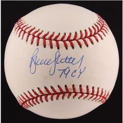 "Bruce Sutter Signed ONL Baseball Inscribed ""79 CY"" (SOP COA)"