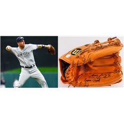 "Todd Frazier Signed Game-Used Wilson A2000 Fielding Glove Inscribed ""Game Used"" (LOJO COA)"