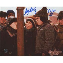 "Scott Schwartz Signed ""A Christmas Story"" 8x10 Photo Inscribed ""Flick"" (Legends COA)"