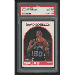 1989-90 Hoops #310 David Robinson In Action (PSA 10)