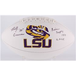 "Billy Cannon Signed LSU Tigers Logo Football Inscribed ""Heisman Trophy 1959""  ""C.H.O.F."" (Radtke COA"