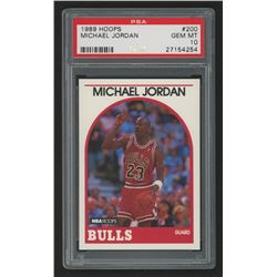 1989-90 Hoops #200 Michael Jordan (PSA 10)