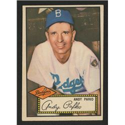 1952 Topps #1 Andy Pafko