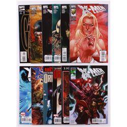 Lot of (12) 2007-2008 X-Men Legacy Marvel Comic Books